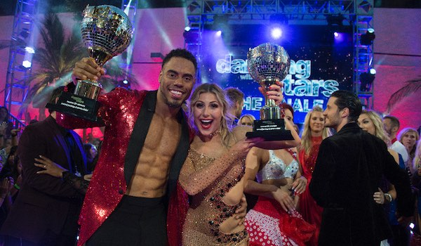 Top 5 Dancing With The Stars Winners - Rashad Jennings Emma Slater