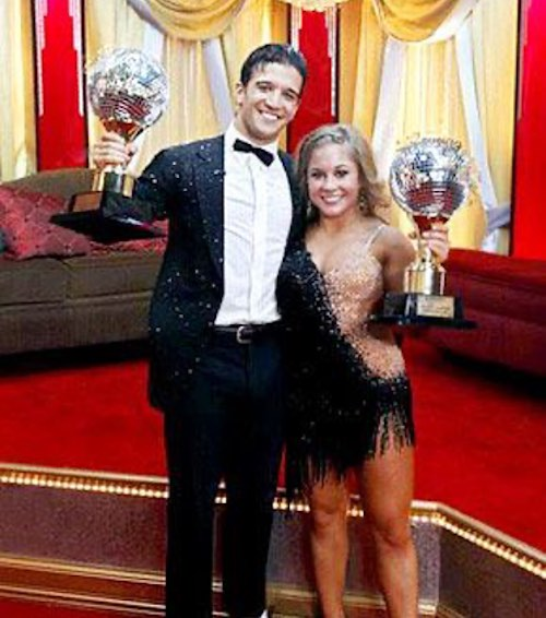Top 5 Dancing With The Stars Winners - Shawn Johnson Mark Ballas