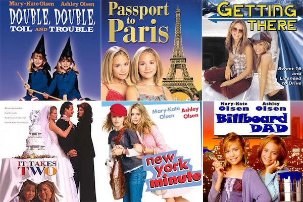 Top 5 Movies TV Shows You Probably Rented At Blockbuster - Mary Kate and Ashley