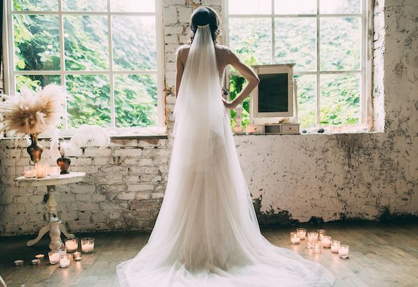 Top 5 Traditions Rarely Done At Modern Weddings - White Dress and Veil