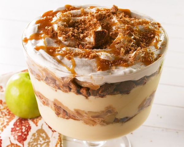Top 5 Recipes for the Fall Harvest Season - carmel apple pudding