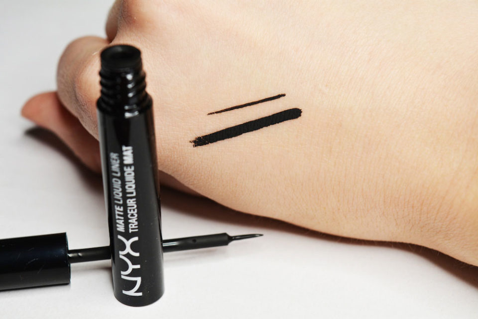 Top 5 affordable beauty products - nyx matte liquid liner