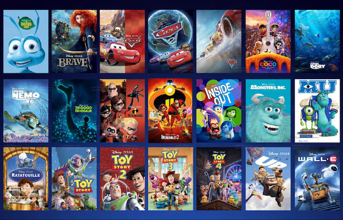 Top 5 Disney Pixar Movies