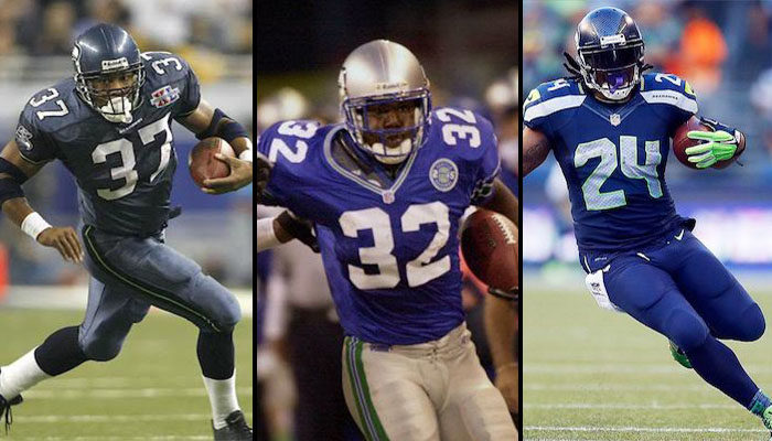 Seattle Seahawks All Time Rushing Leaders