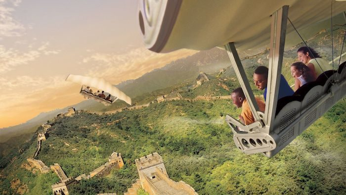 Top 5 Most Immersive Rides at the Disney Parks - Soarin Around the World