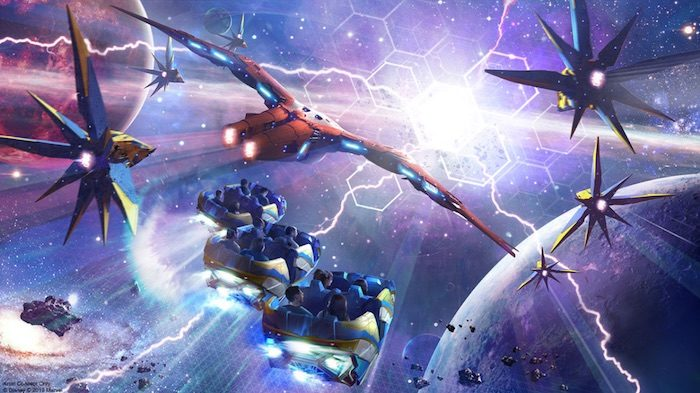 Top 5 New Disney Attractions That Are Coming Soon - Guardians of the Galaxy Cosmic Rewind