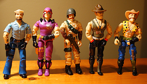 Custom GI Joe Figures