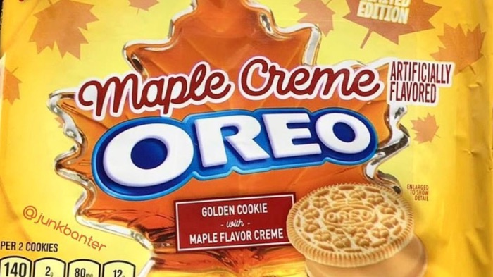Top 5 Flavors of Oreo Cookies - Maple Creme