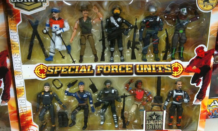 Top 5 GI Joe Action Figure Know Offs