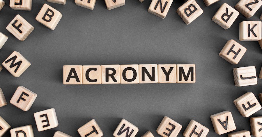 Top 5 Words You Didn't Know Were Acronyms