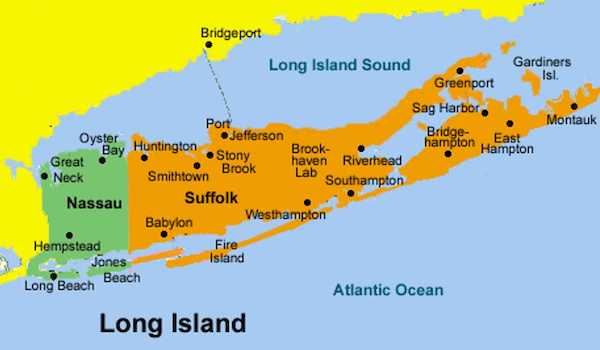 Top 5 American regions that nearly became a State - Long Island
