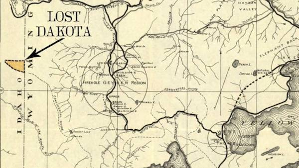 Top 5 American regions that nearly became a State - Lost Dakota