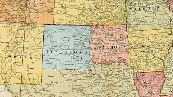 Top 5 American regions that nearly became a State - Texlahoma