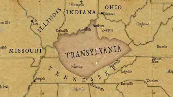 Top 5 American regions that nearly became a State - Transylvania