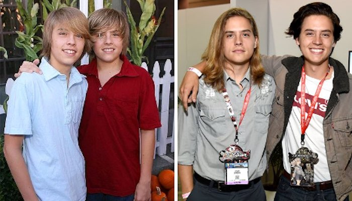 Top 5 Must See Celebrity Glow-Ups - The Sprouse Twins
