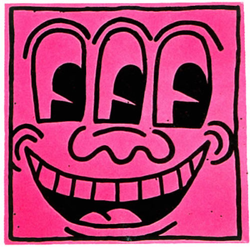 Top 5 Amazing Works of Art by Keith Haring - Untitled in 1982 2