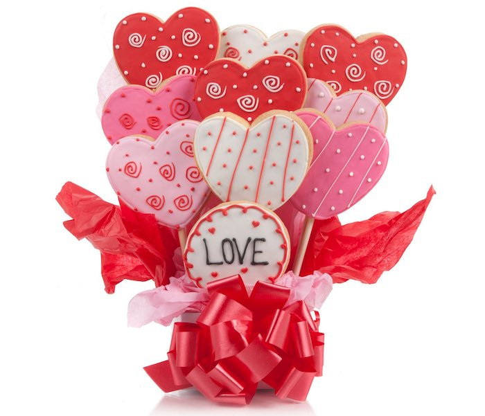 Top 5 Flower Bouquet Alternatives For Valentine's Day - Cookies