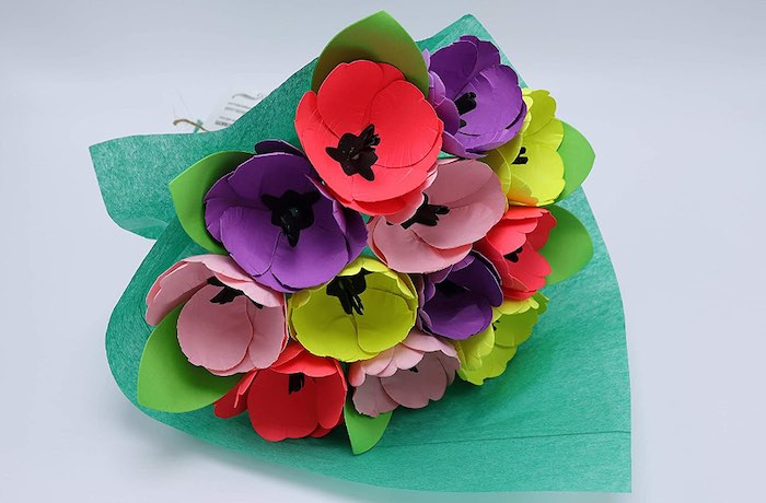 Top 5 Flower Bouquet Alternatives For Valentine's Day - Paper Flowers