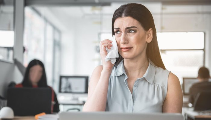 Top 5 Signs Its Time To Quit Your Job - You Cry All The Time