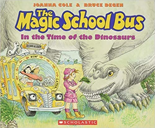 Top 5 The Magic School Bus Books - In The Time Of The Dinosaurs