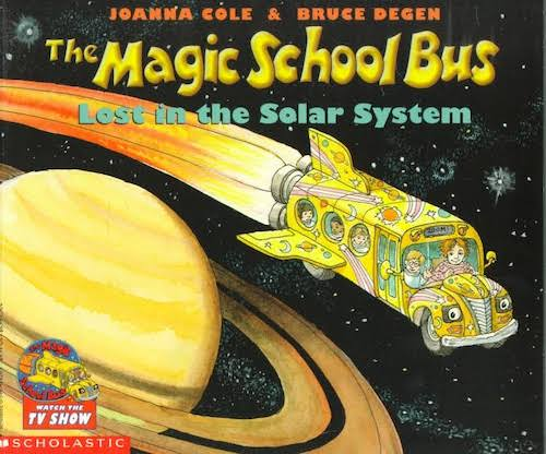 Top 5 The Magic School Bus Books - Lost In The Solar System