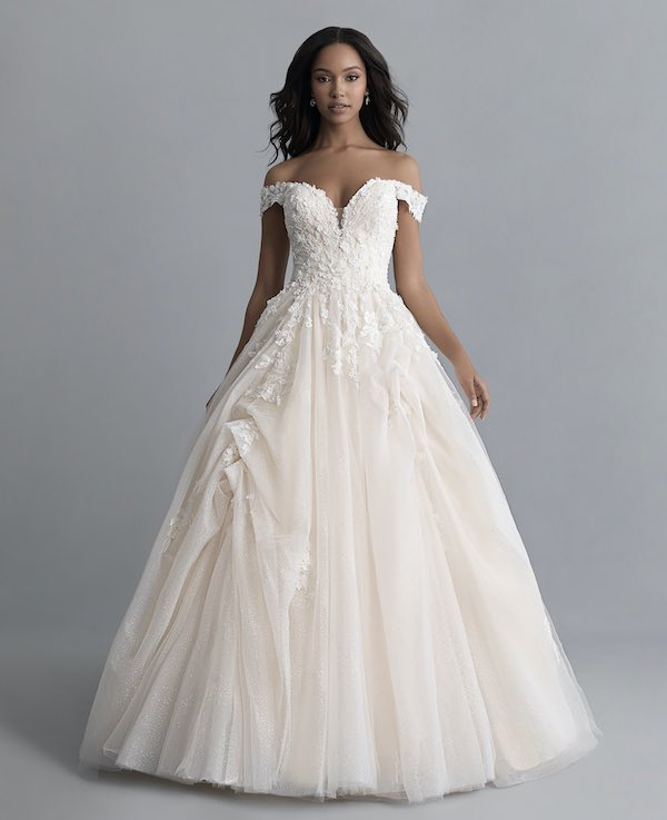 Top 5 Wedding Dresses Inspired by Disney Princesses - Belle Ultra Ball Gown