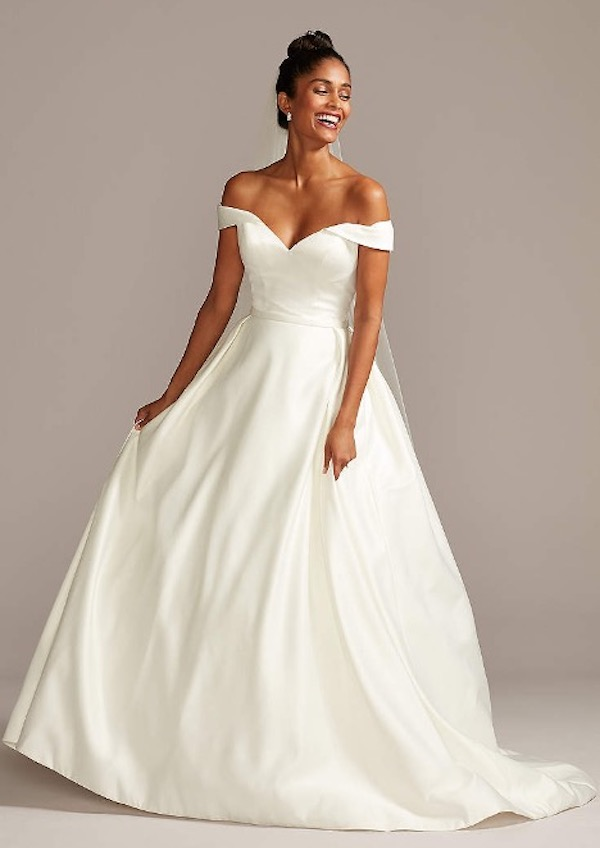 Top 5 Wedding Dresses Inspired by Disney Princesses - Cinderella Ball Gown