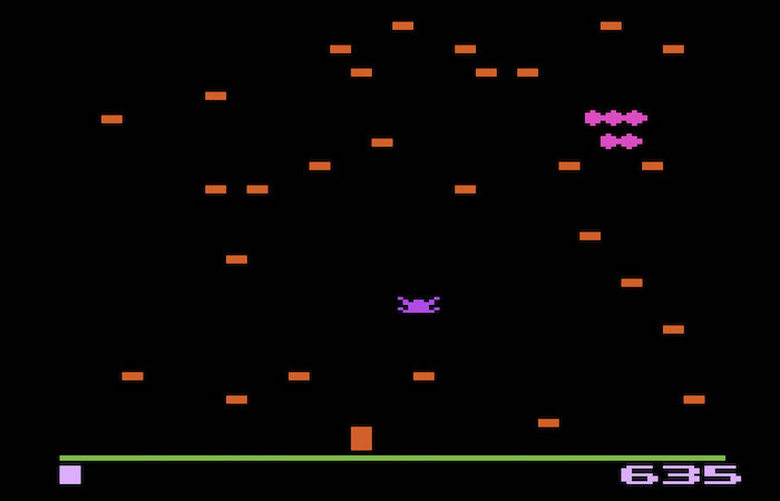 Top 5 Games on the Atari 2600 Video Game Console- Centipede