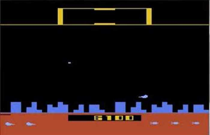 Top 5 Games on the Atari 2600 Video Game Console - Defender