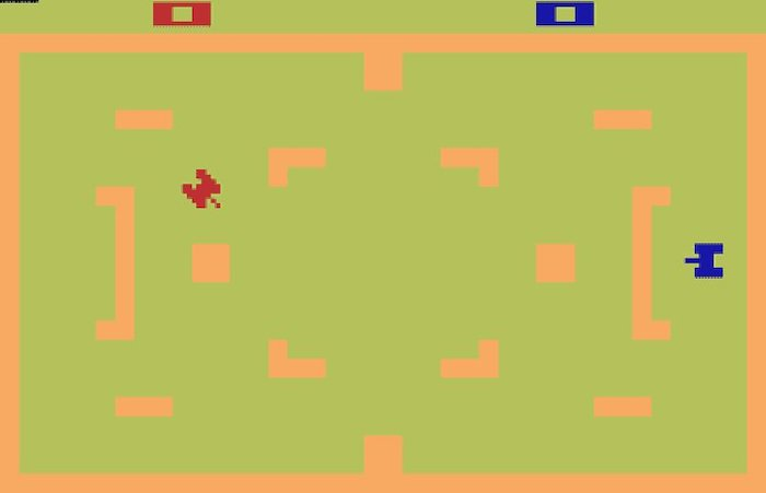 Top 5 Games on the Atari 2600 Video Game Console - Tank