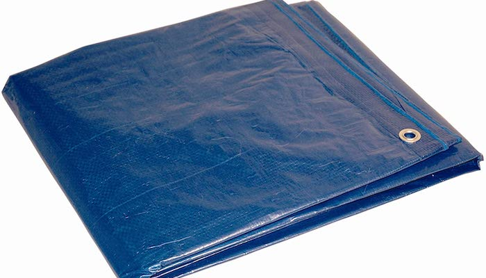 Top 5 Life Hacks for Dealing with Snow - Use A Tarp