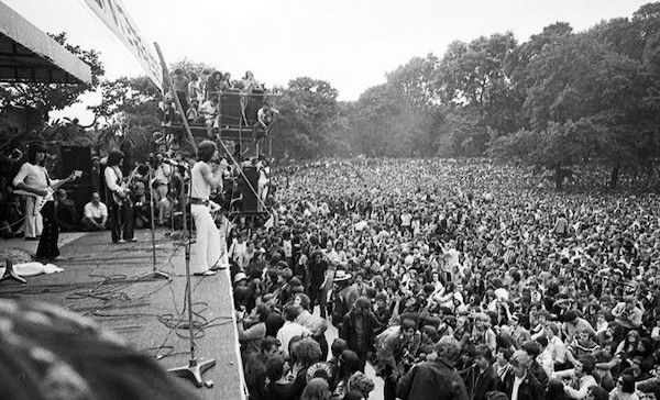 Top 5 Times Concert Crowds Started to Riot - Altamont 1969