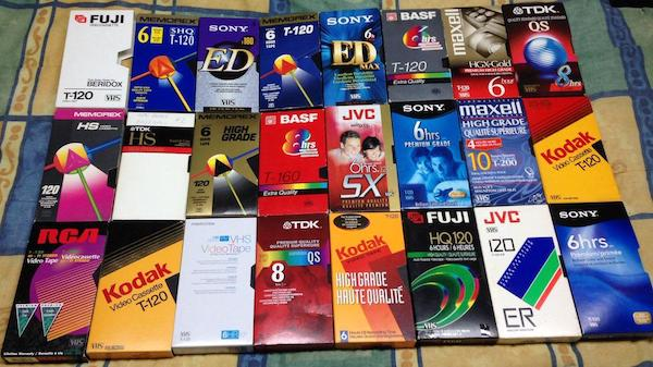 Top 5 Greatest Inventions for VHS Collectors - Blank Tapes