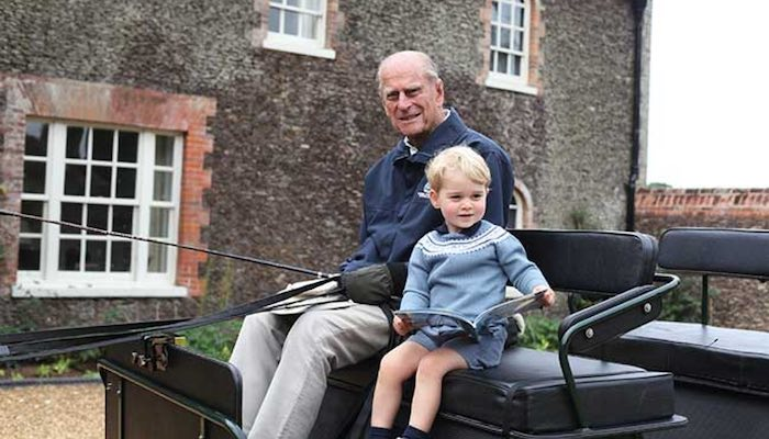Top 5 Photos of Prince Philip With Family - Prince George