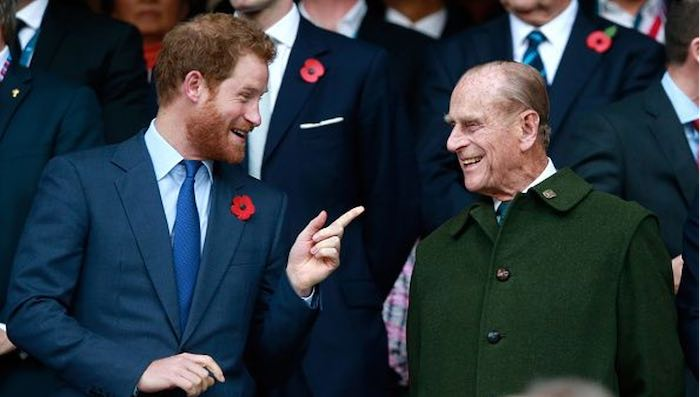 Top 5 Photos of Prince Philip With Family - Prince Harry