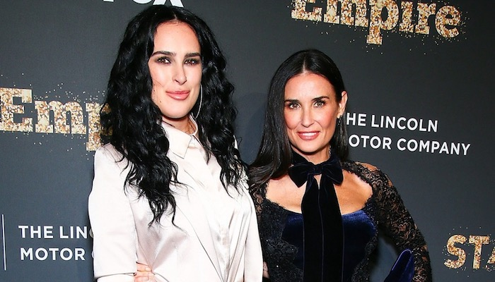 Top 5 Celebrity Mother Daughter Duos - Demi Moore and Rumer Willis