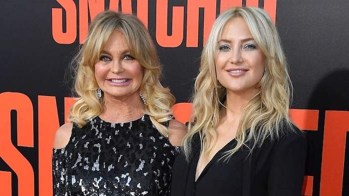 Top 5 Celebrity Mother Daughter Duos - Goldie Hawn and Kate Hudson