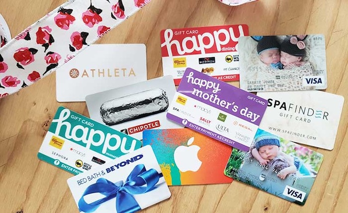 Top 5 Last Minute Gifts For Mother's Day - Gift Cards