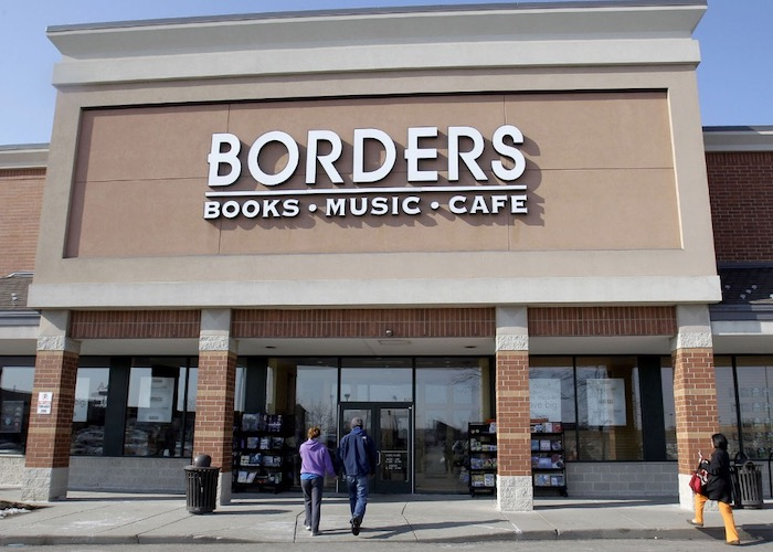 Top 5 Stores You Probably Remember If You Were Born In The 90s - Borders