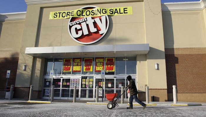 Top 5 Stores You Probably Remember If You Were Born In The 90s - Circuit City