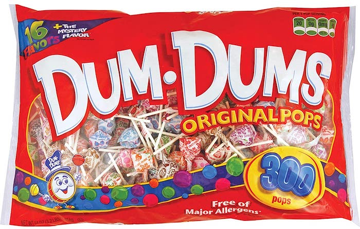 Top 5 Fun Facts About Dum Dums Lollipop Candy - The Name