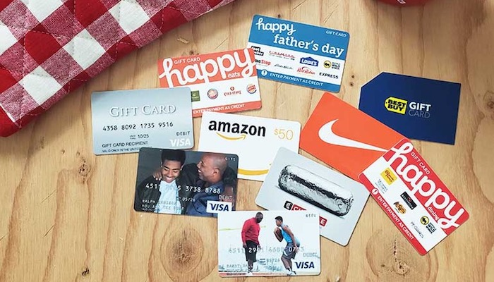 Top 5 Last Minute Gifts For Your Dad For Father's Day - Gift Cards
