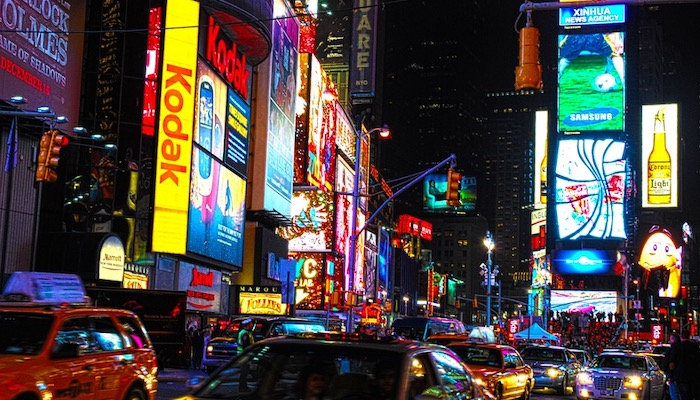 Top 5 Things To Do On Your First New York City Trip - Visit Times Square At Night