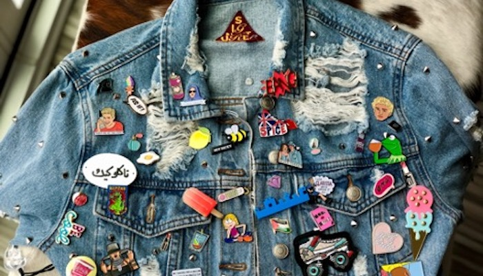 Top 5 Places To Put Your Button Pin Collection - Denim Jacket