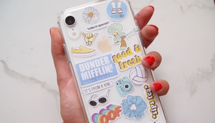 Top 5 Ways To Utilize Your Sticker Collection - Phone case