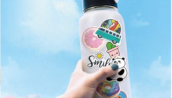 Top 5 Ways To Utilize Your Sticker Collection - Reusable Water Bottle